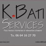 K.Bati Service - carte de visite